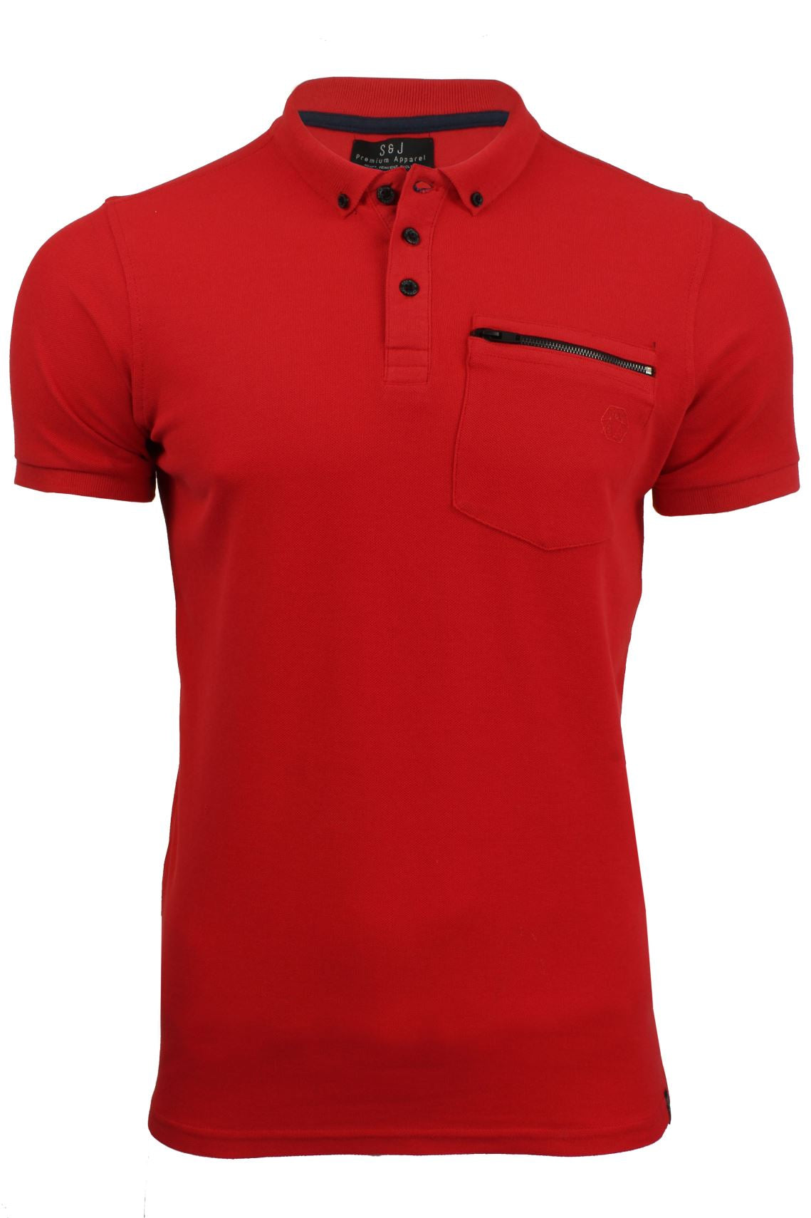 Mens Polo Shirt by Smith & Jones 'Mascaron' Short Sleeved-Main Image