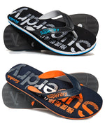 Superdry 'Scuba Faded Logo'    Mens Flip Flops, 01, Mf3105, #colour_Parent
