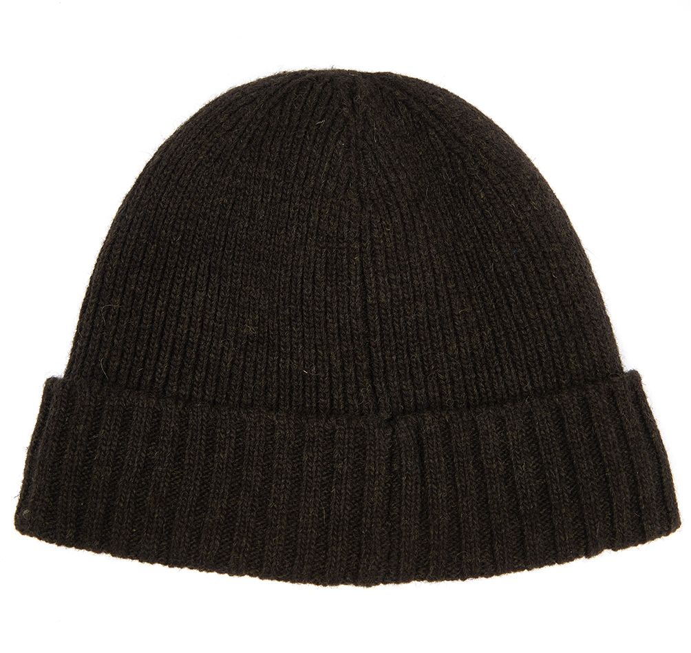 Barbour Mens Carlton Beanie Hat_02_Mha0449_Dk Green