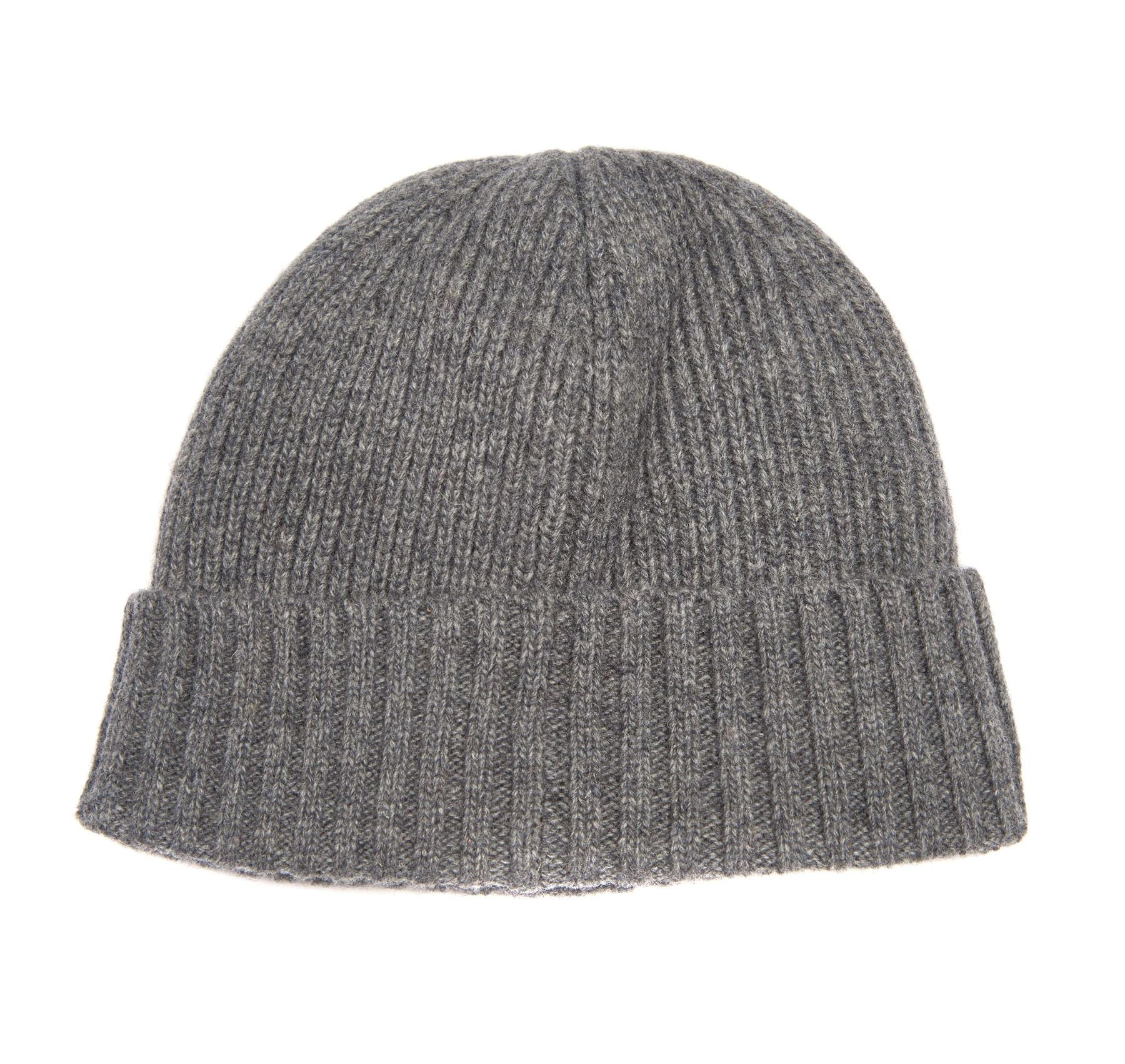 Barbour Mens Carlton Beanie Hat_03_Mha0449_Grey
