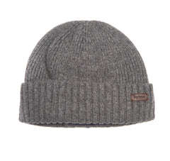 Barbour Mens Carlton Beanie Hat_01_Mha0449_Grey