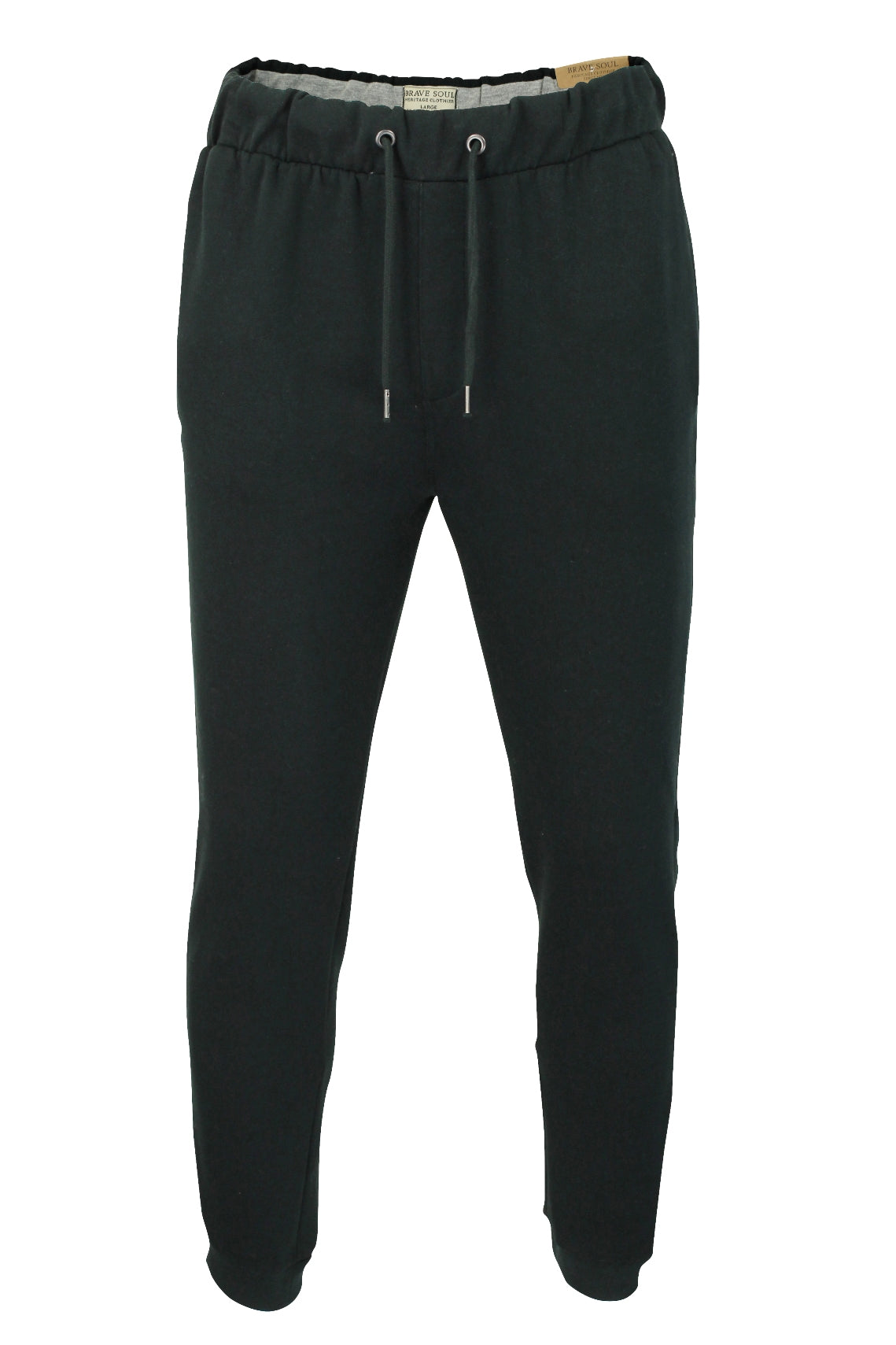 Mens Joggers/ Jogging Bottoms by Brave Soul Stein-2