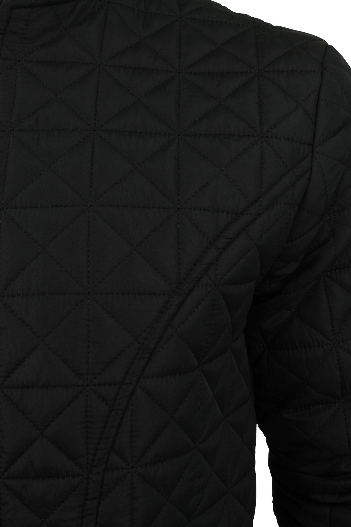 Mens Quilted Bomber Jacket by Brave Soul 'Bryan'-2