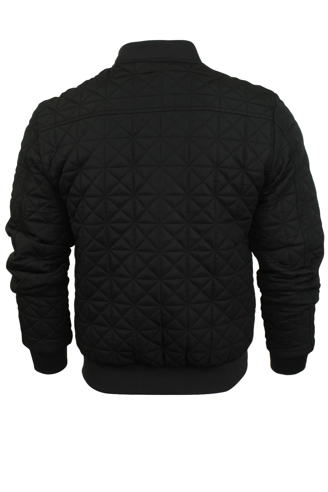 Mens Quilted Bomber Jacket by Brave Soul 'Bryan'-3