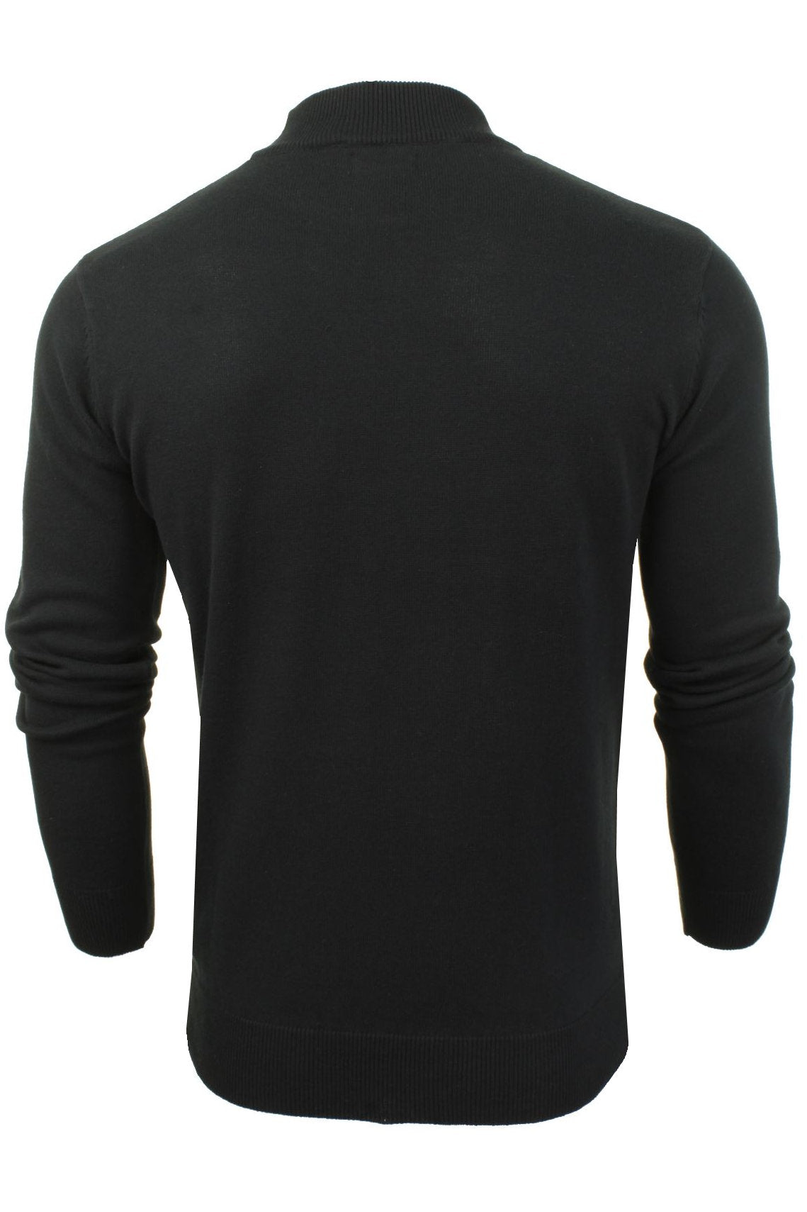 Mens Turtle Neck Jumper by Brave Soul_03_Mk-181Turtle-X_Jet Black
