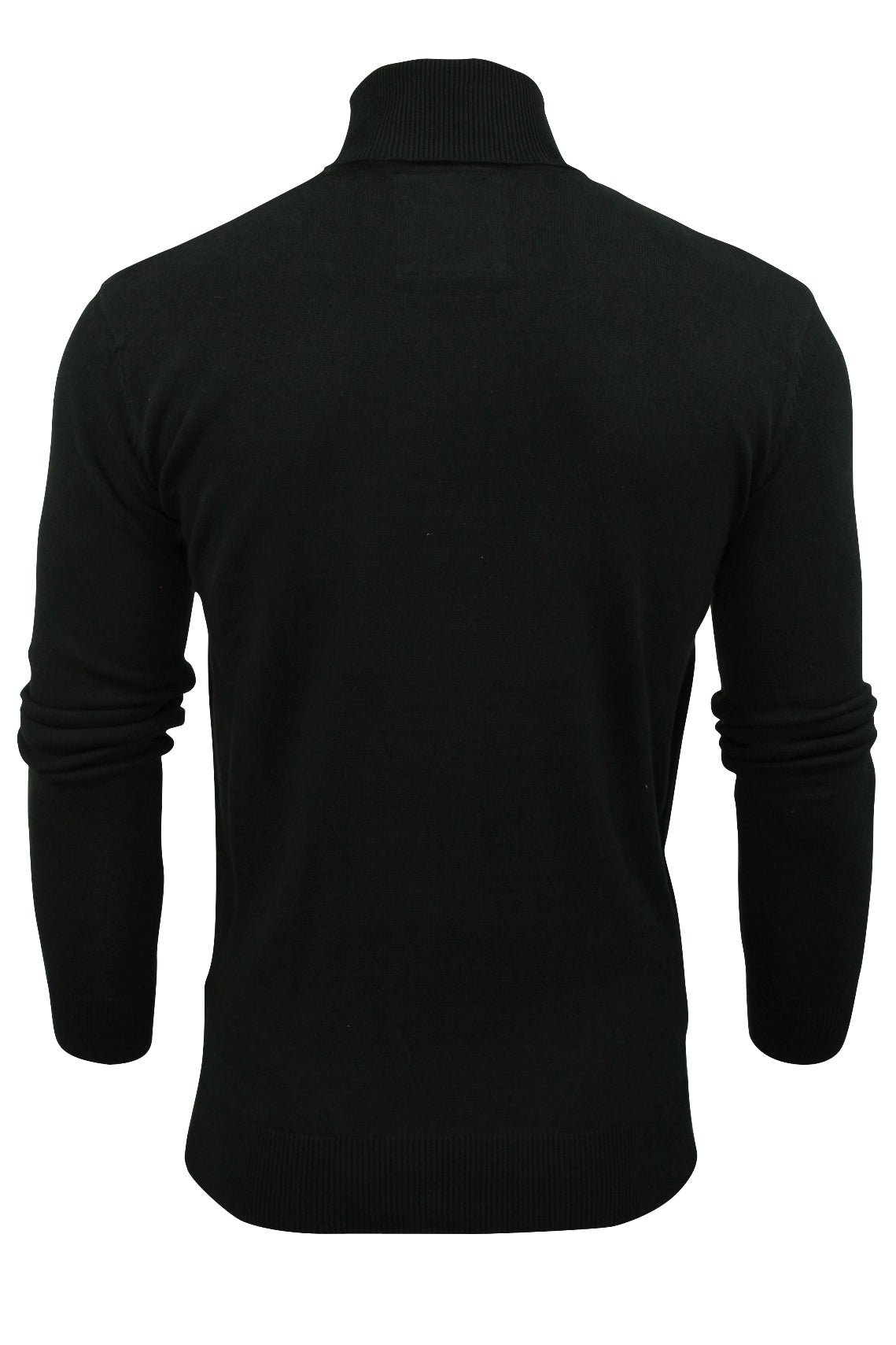 Mens Roll Polo Neck Jumper by Brave Soul 'Hume'-2