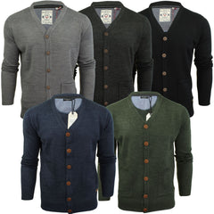 Mens Cardigan Button Through  by Brave Soul-Main Image