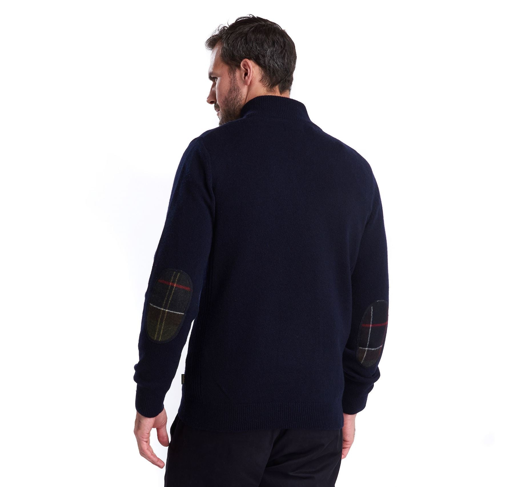Barbour Men's Holden Half Zip Lambswool Jumper_02_Mkn0837_Navy