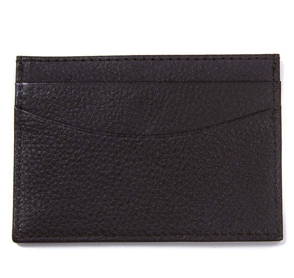 Barbour Men's Amble Leather Credit Card Holder Wallet_02_Mlg0006_Dk Brown