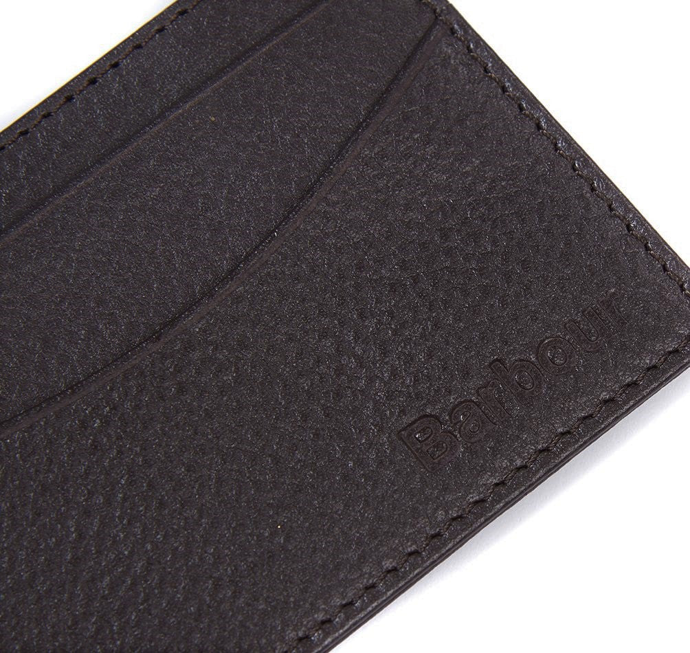 Barbour Men's Amble Leather Credit Card Holder Wallet_03_Mlg0006_Dk Brown