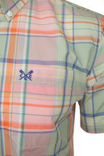 Crew Clothing Men's 'Padbury' Soft Check Shirt - Short Sleeved, 02, Mmb097, #colour_Multi
