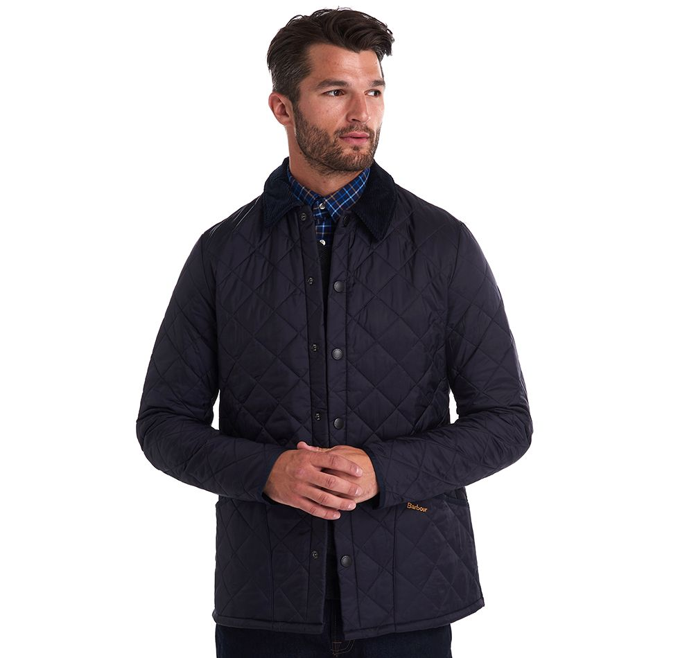 Barbour Men's Heritage Liddesdale Quilted Jacket_01_Mqu0240_Navy
