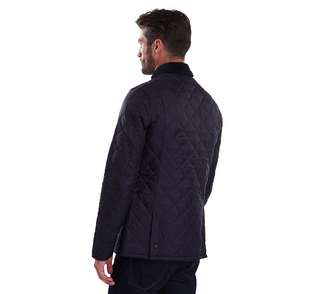 Barbour Men's Heritage Liddesdale Quilted Jacket_03_Mqu0240_Navy