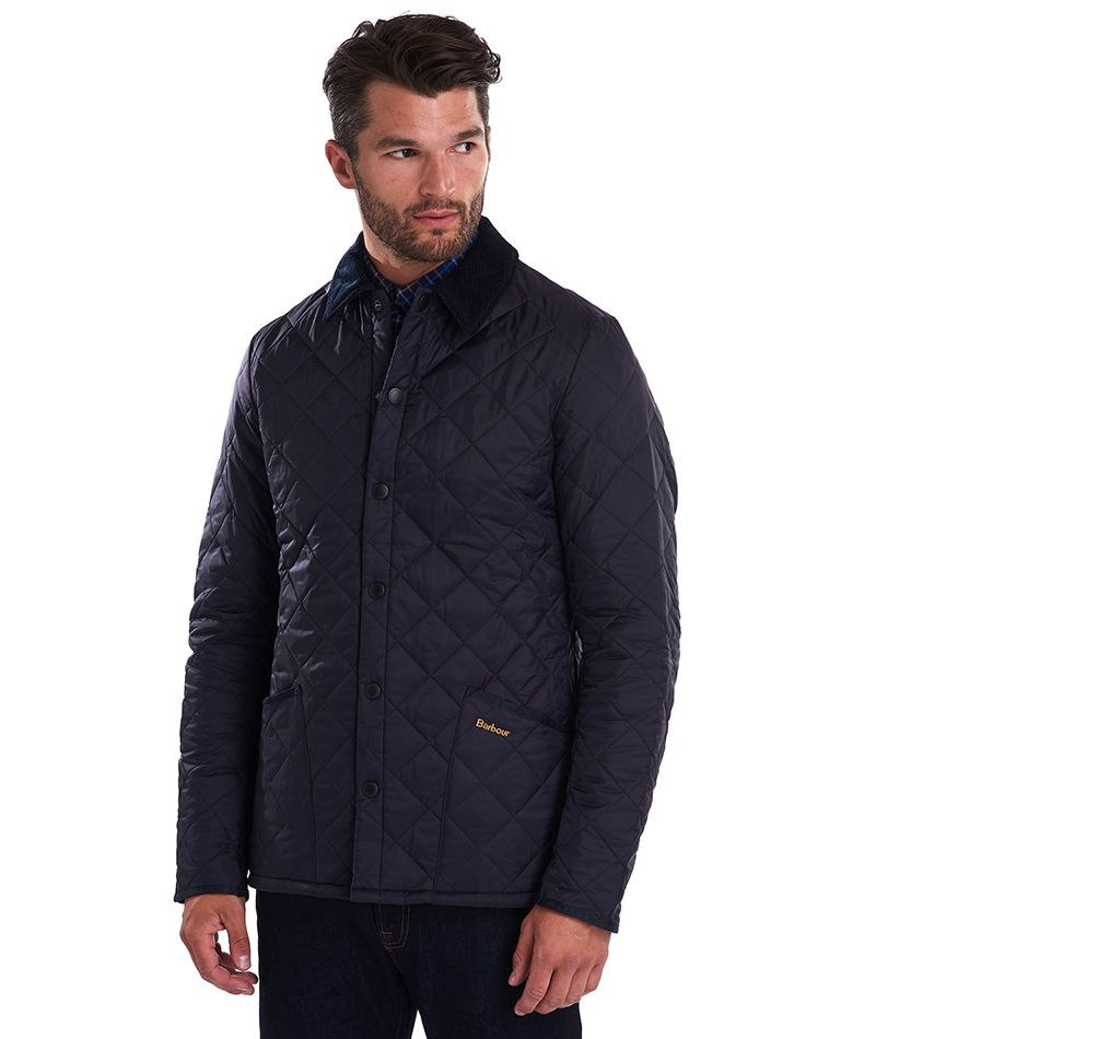 Barbour Men's Heritage Liddesdale Quilted Jacket_04_Mqu0240_Navy