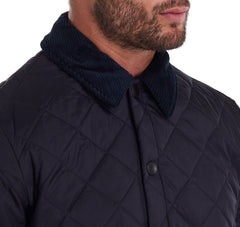 Barbour Men's Heritage Liddesdale Quilted Jacket_05_Mqu0240_Navy