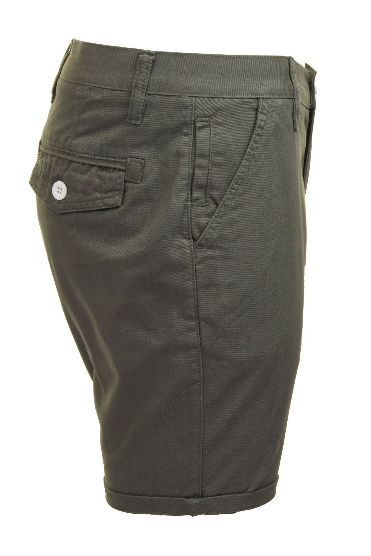 Mens Chino Short by Brave Soul 'Smith' Cotton Twill-2