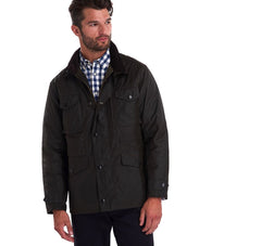 Barbour Men's Sapper Wax Jacket_04_Mwx0020_Olive