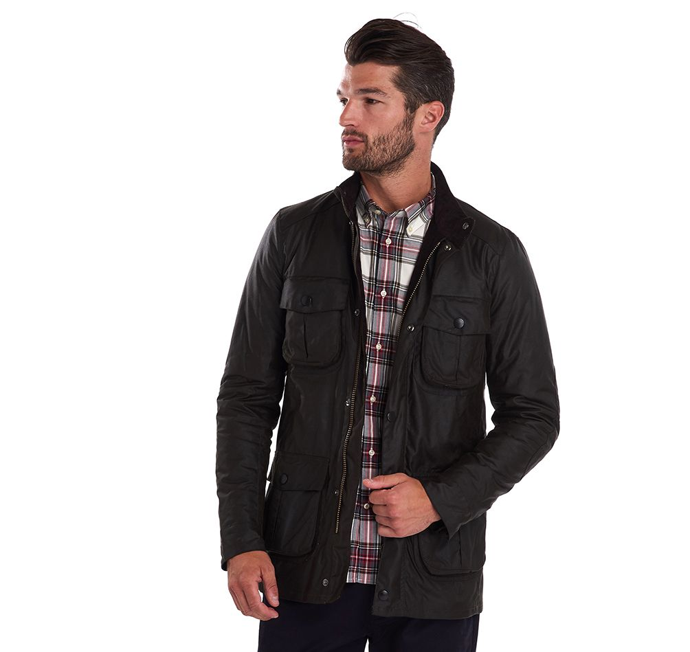Barbour Men's Corbridge Wax Jacket_01_Mwx0340