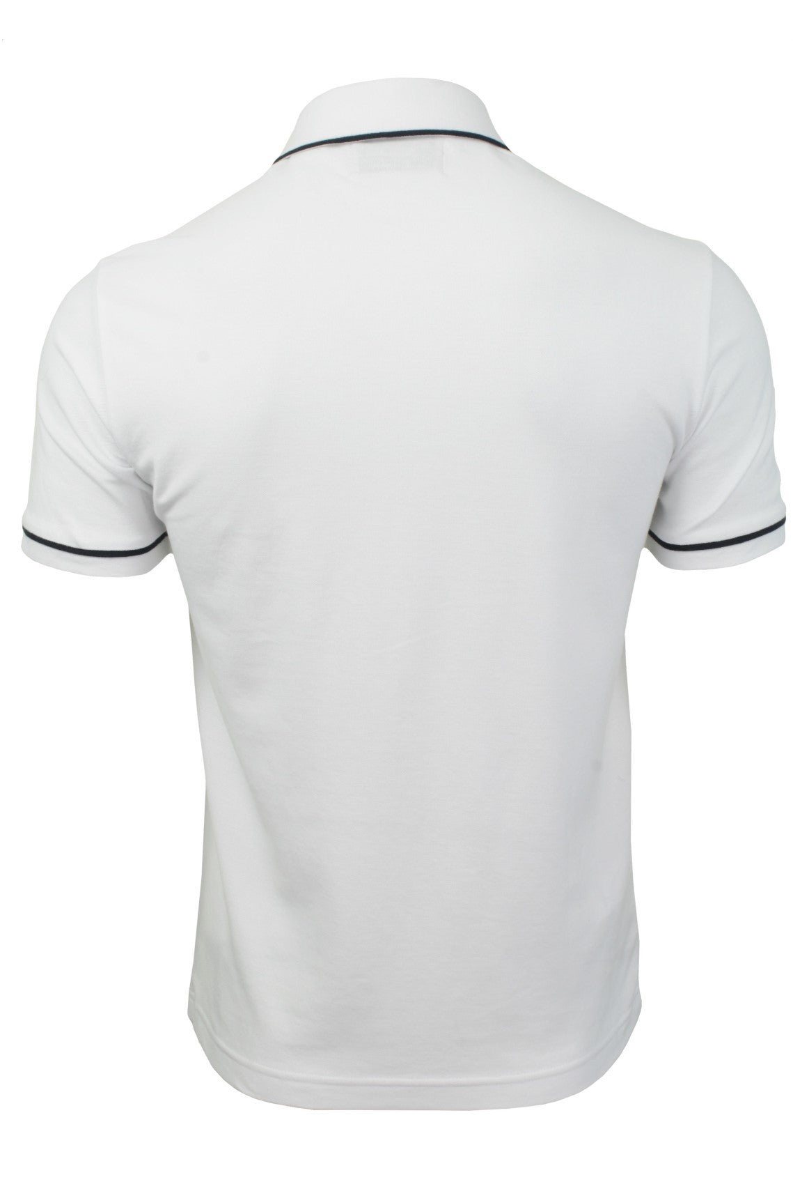 Mens Polo T-Shirt by Original Penguin 'Earl' Short Sleeved_03_Opkf3204_Bright White/ Sapphire