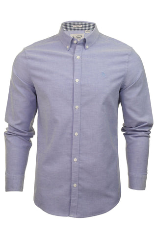 Original Penguin Mens Stretch Oxford Shirt - Long Sleeved-Main Image