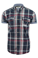 Mens Shirt by Smith & Jones 'Panzence' Short Sleeved-2