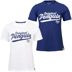 Boys Original Penguin T-Shirt - Varsity Logo-Main Image