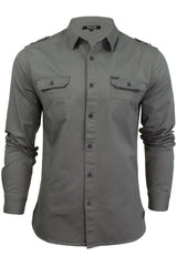 Mens Shirt by Firetrap 'Pittson' Long Sleeved-Main Image