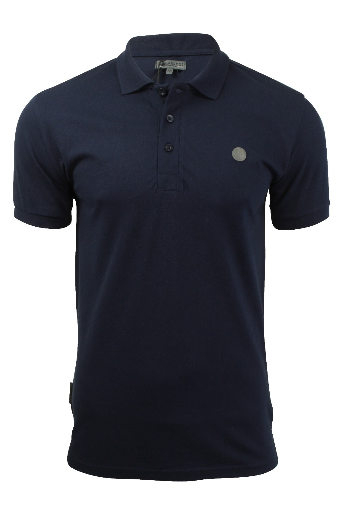 Mens Polo T-Shirt by Voi Jeans 'Redford' Short Sleeved-Main Image