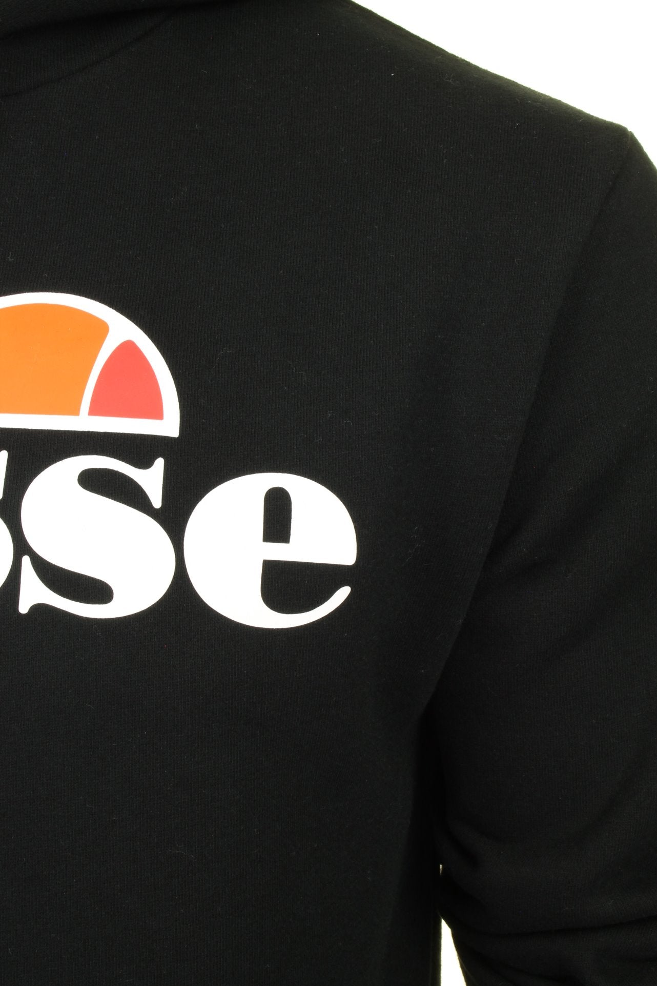 Ellesse Mens Logo Front Over Head Hoody 'GOTTERO' - Long Sleeved with Pockets-2