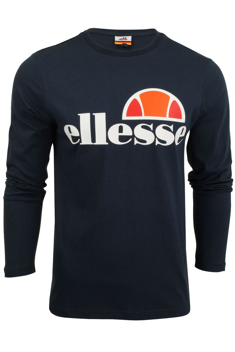 Mens Ellesse Long Sleeved T-Shirt 'Grazie', 02, SHS01765