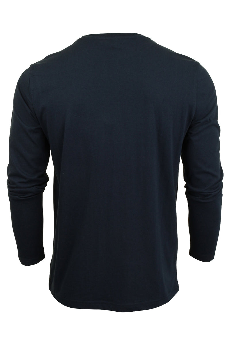 Mens Ellesse Long Sleeved T-Shirt 'Grazie', 02, SHS01765, #colour_Dress Blue