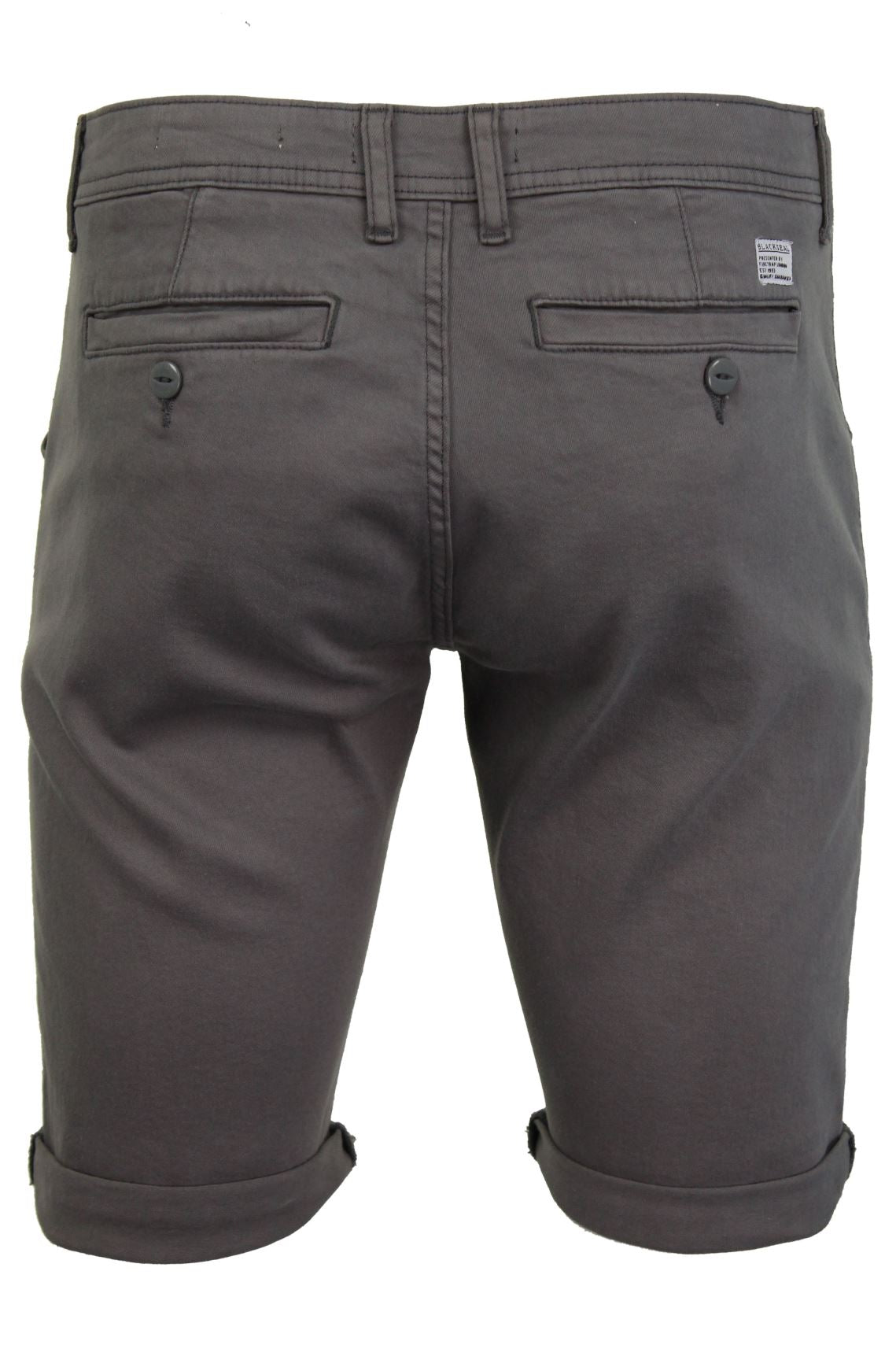 Mens Chino Shorts by Firetrap 'Solvay' Cotton Twill-3