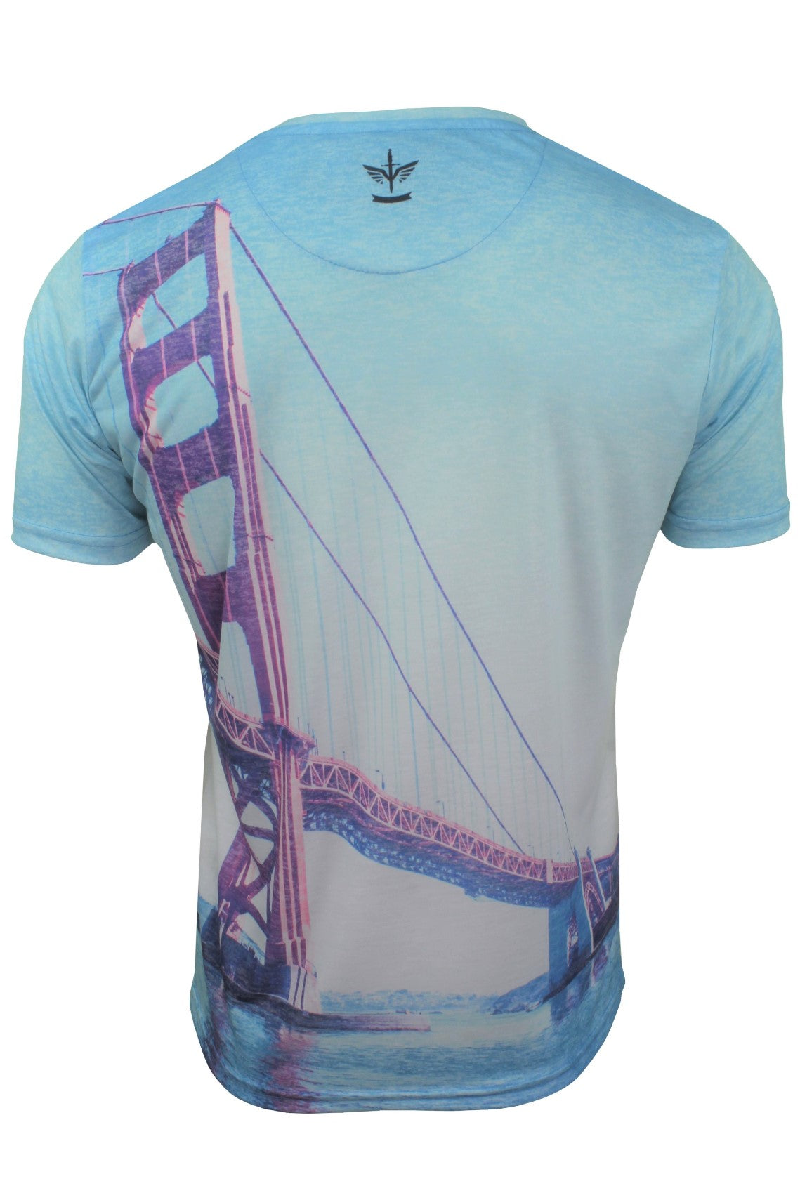 Firetrap Mens T-Shirt  'Sunny Tee' USA City Print-3