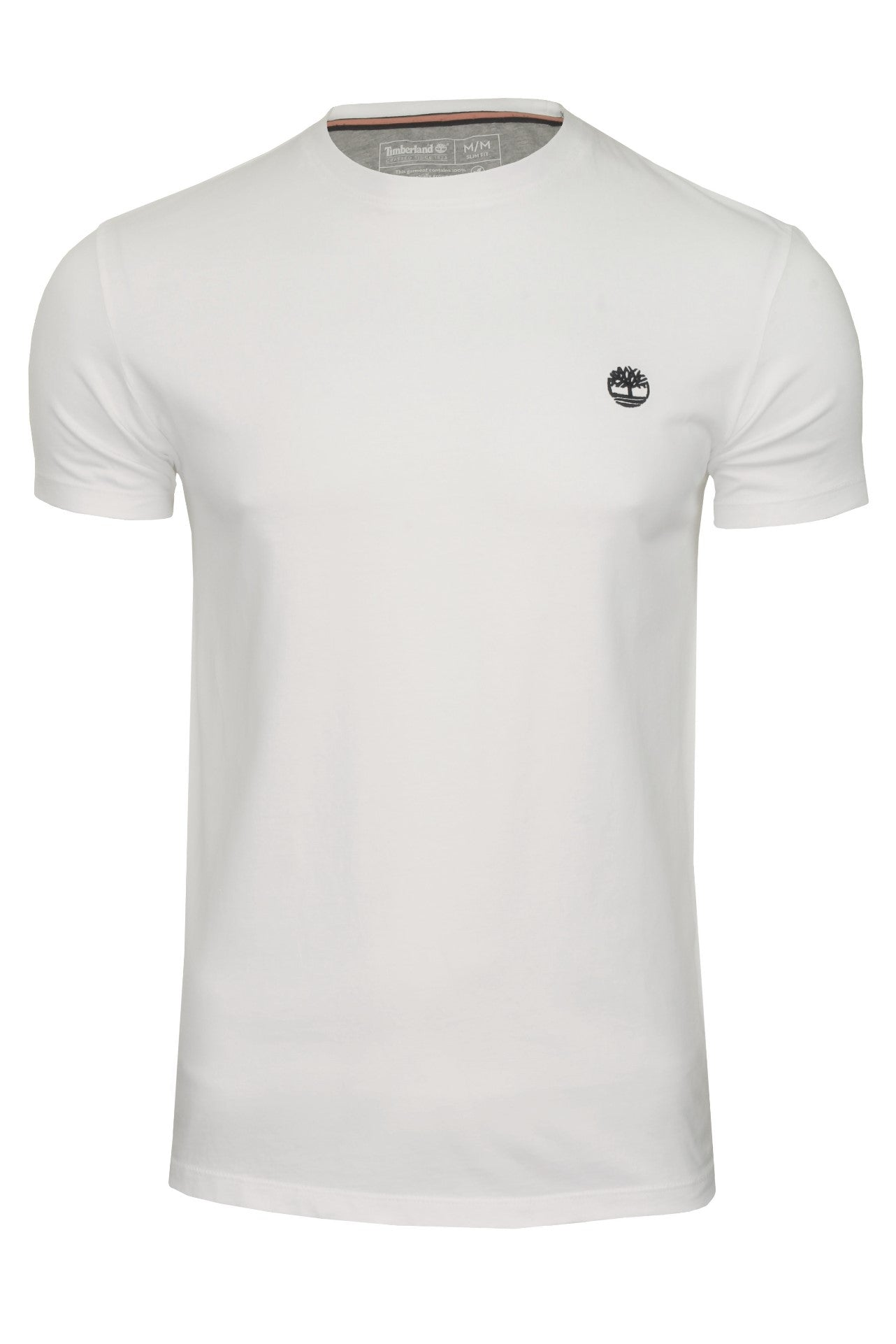 Timberland Mens Crew Neck T-Shirt 'Dunstan River Jersey Crew' - Short Sleeved_01_Tb0A2Bpr_White