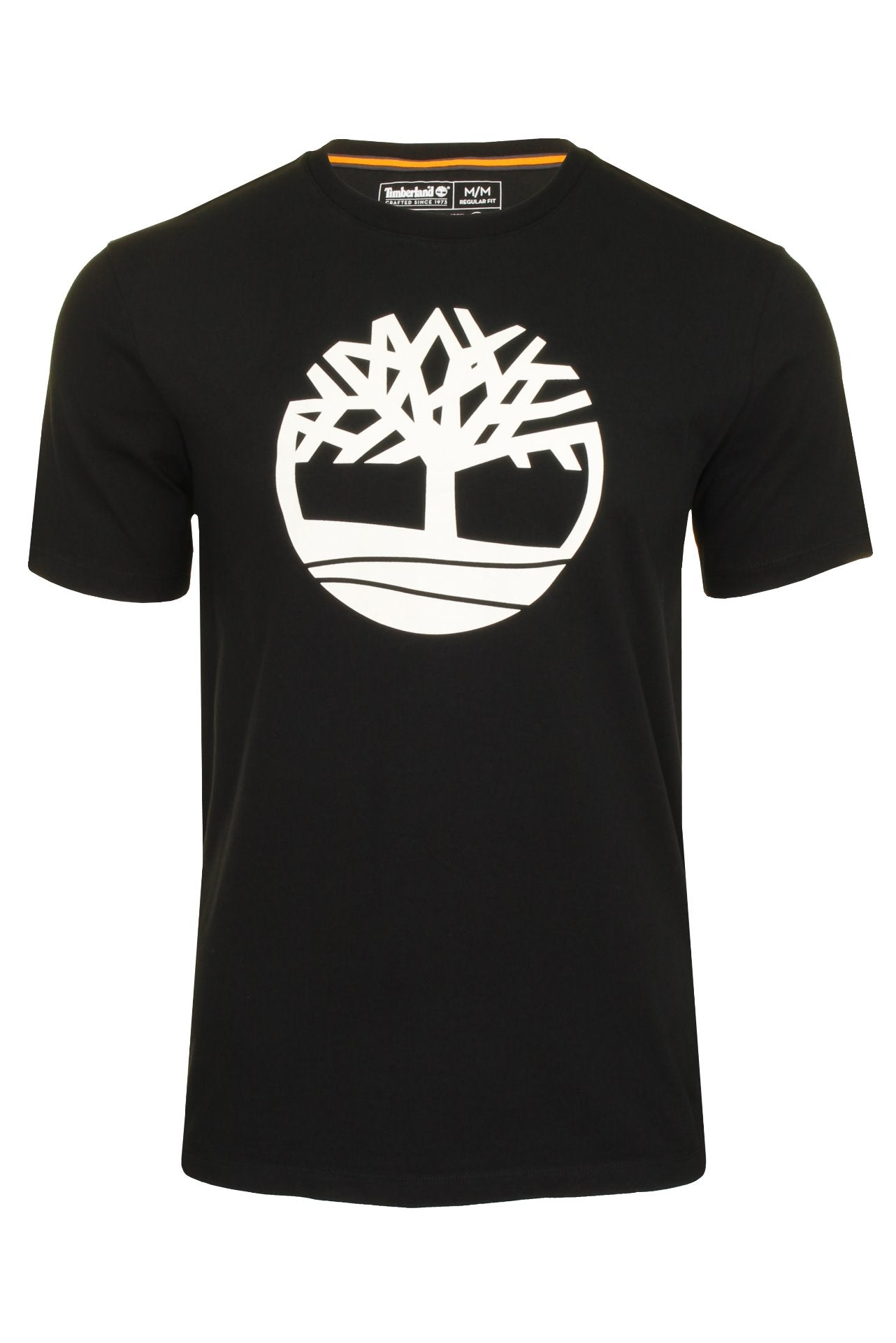 Timberland 'Kennebec River Tree Logo' T-Shirt - Short Sleeved_01_Tb0A2C2R_Black
