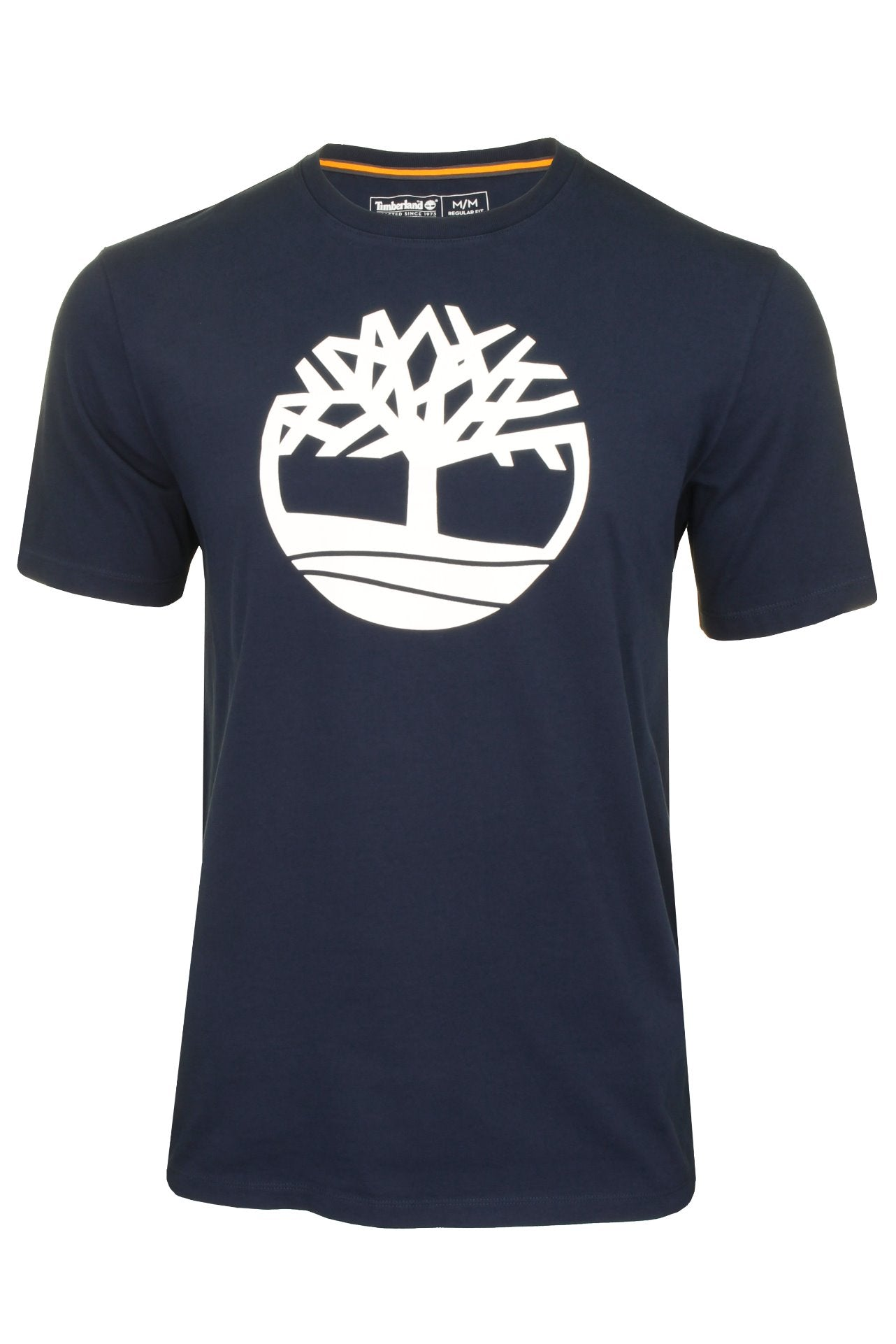 Timberland 'Kennebec River Tree Logo' T-Shirt - Short Sleeved_01_Tb0A2C2R_Dark Sapphire