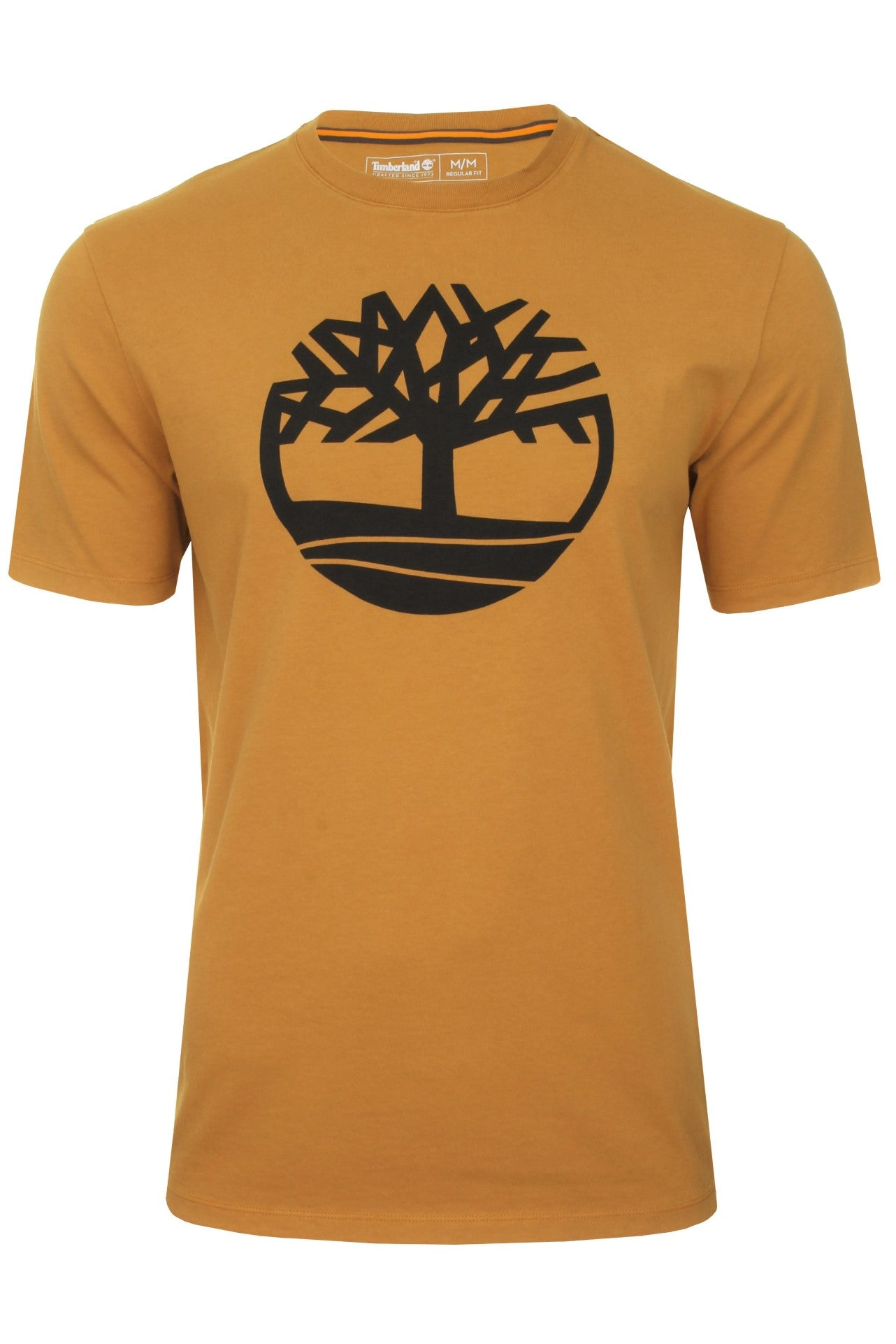 Timberland 'Kennebec River Tree Logo' T-Shirt - Short Sleeved_01_Tb0A2C2R_Wheat Boot