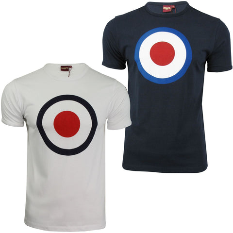 Mens Merc London T Shirt 'Ticket' Target Print-Main Image
