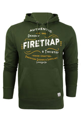 Mens Over-head Hoodie by Firetrap-Main Image