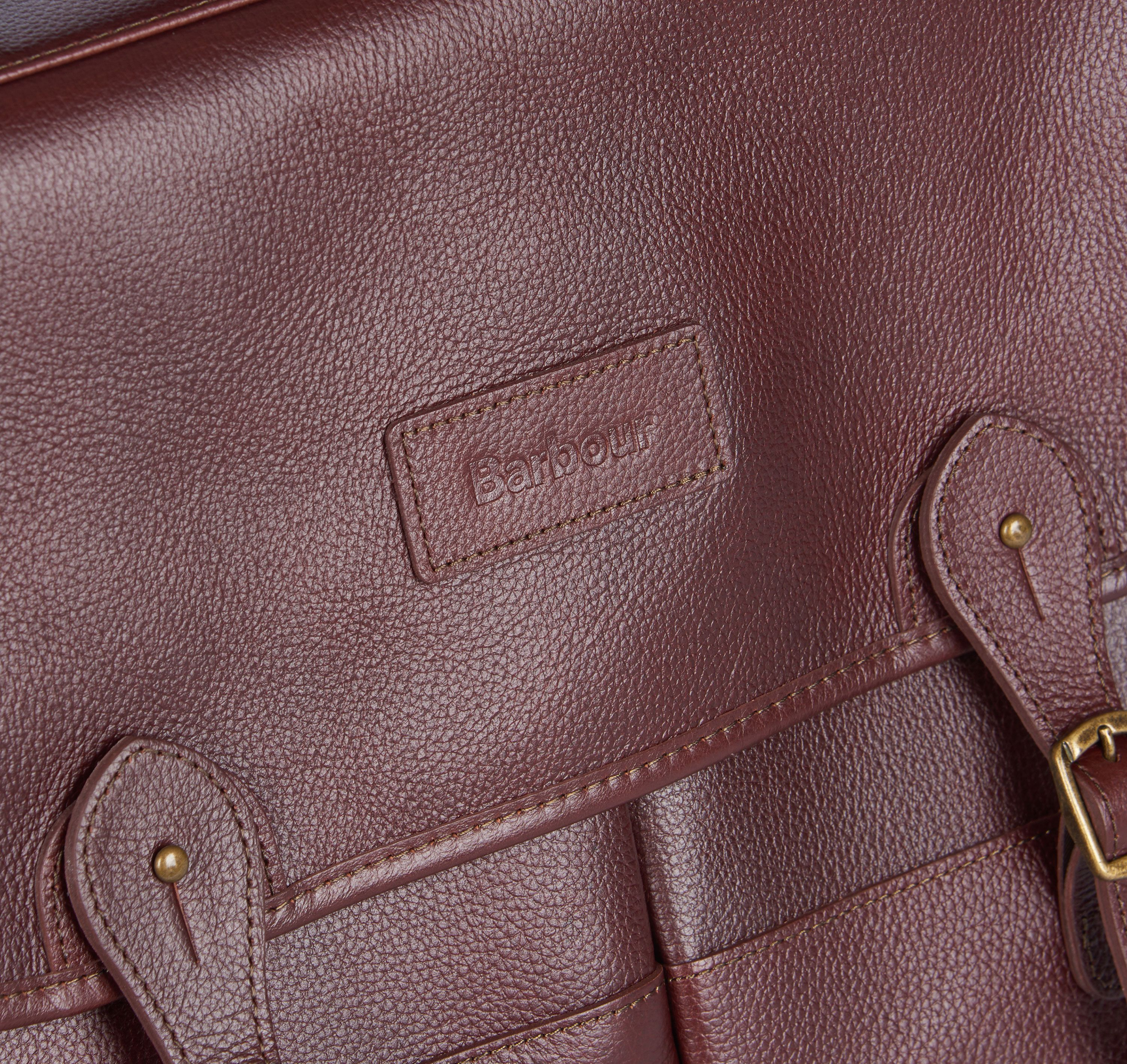 Barbour Leather Briefcase_03_Uba0011_Dk Brown