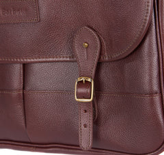 Barbour Leather Briefcase_04_Uba0011_Dk Brown