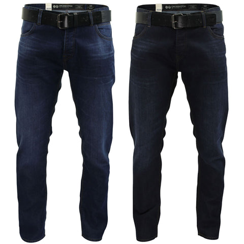 Mens Jeans by Crosshatch 'Wayne' Slim Fit-Main Image
