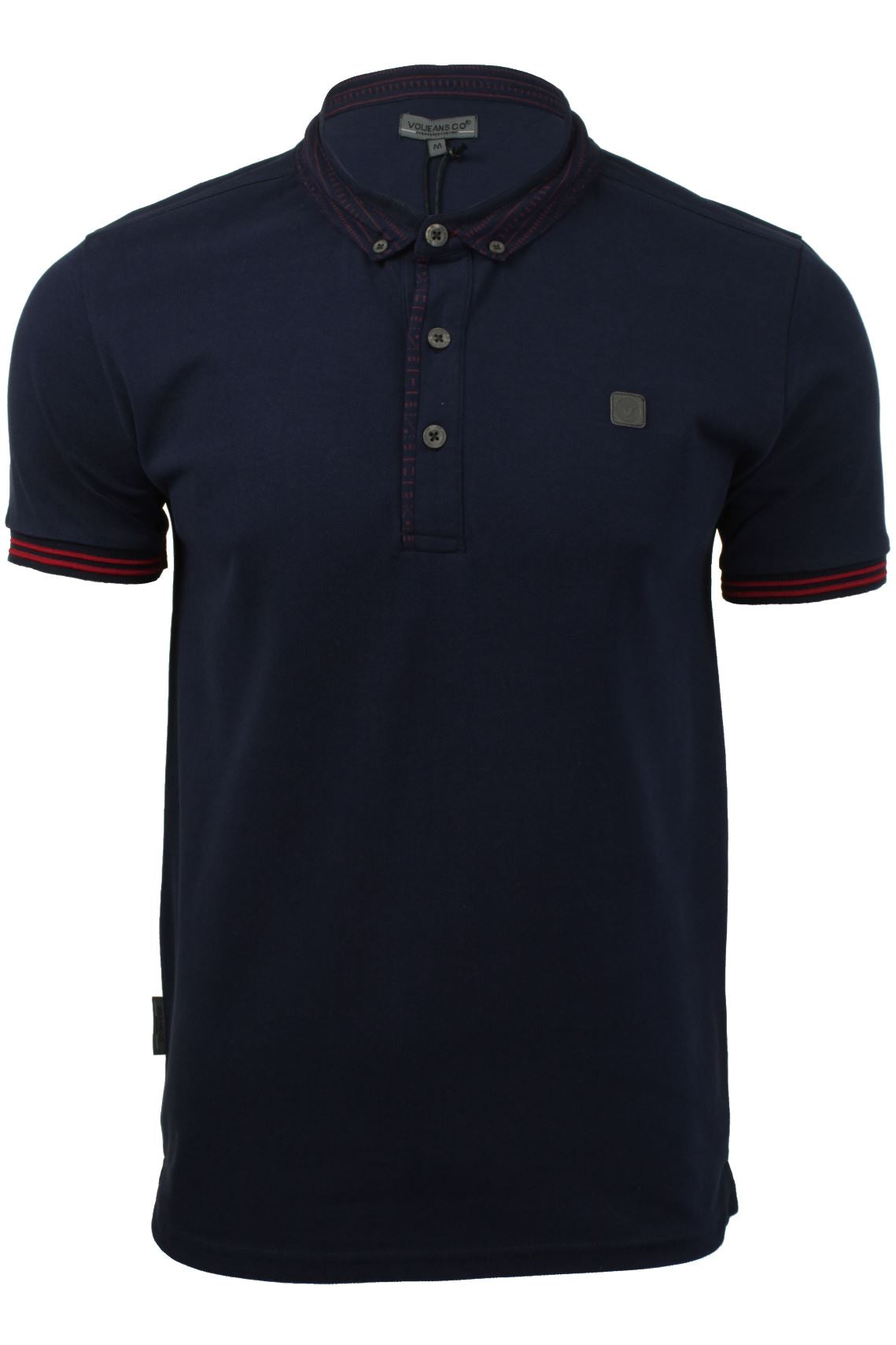 Mens Polo T-Shirt by Voi Jeans 'Winters'-2