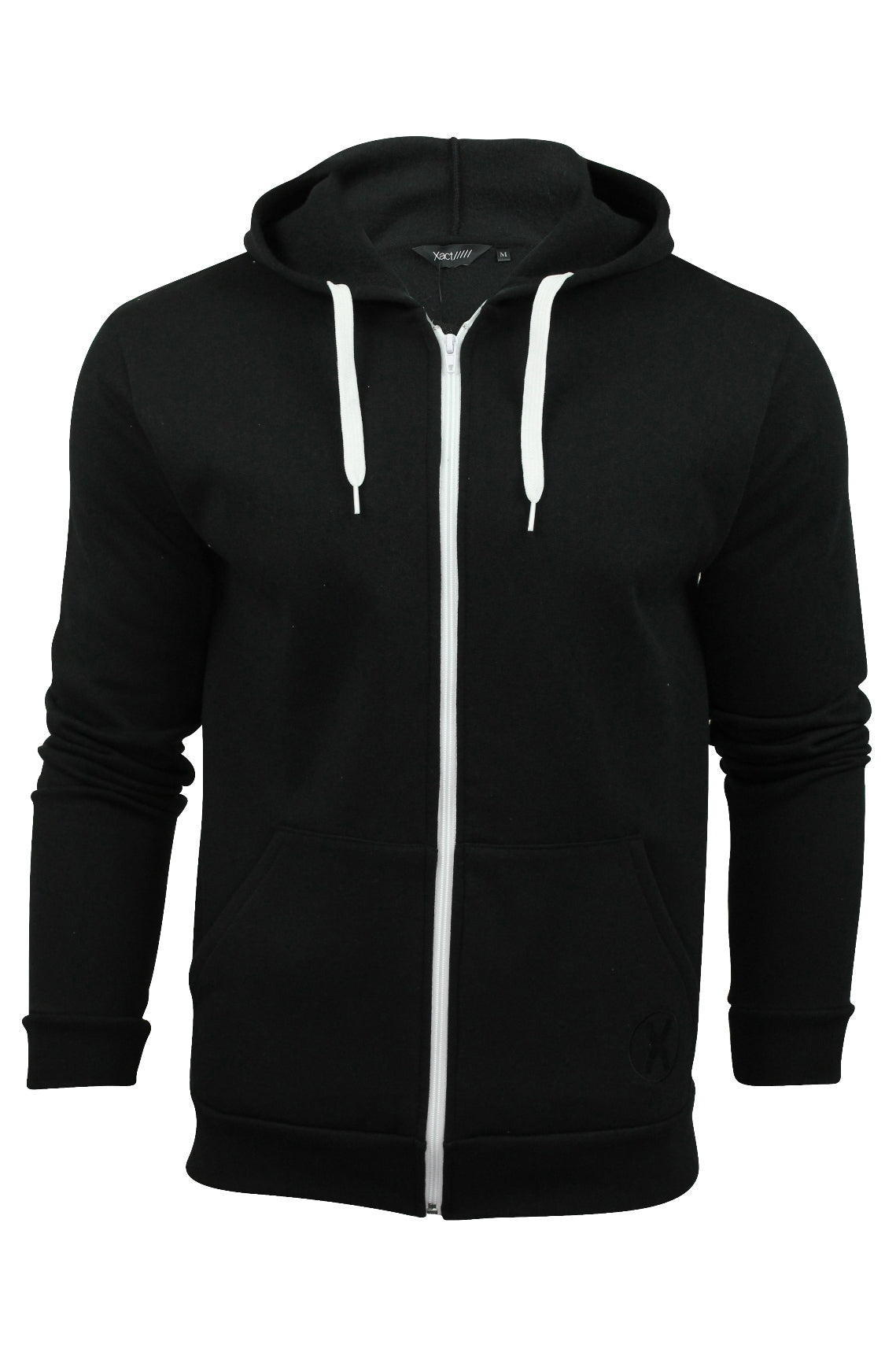 Mens Hoodie Sweat-Top by Xact Clothing Made in England-Main Image