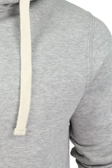 Mens Zip Through Hoodie Sweatshirt by Xact Fleece Back-2