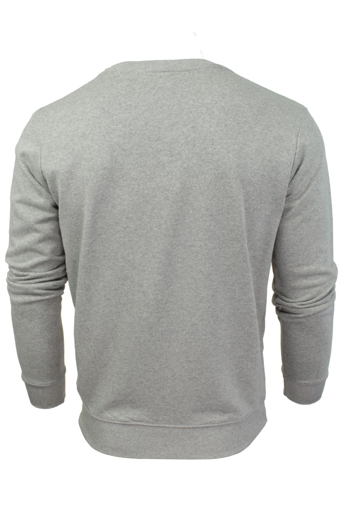 Mens Crew Neck Sweatshirt Jumper by Xact Long Sleeved-3