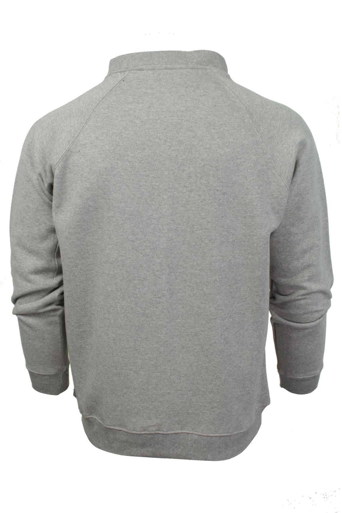 Mens Zip Through Sweatshirt Jumper by Xact Long Sleeved-3