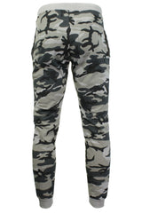 Mens Camouflage Print Joggers/ Gym Running Pants - Skinny Fit - by Xact-3