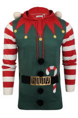 Mens Christmas Elf  Xmas Jumper by Xact-2