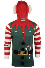 Mens Christmas Elf  Xmas Jumper by Xact-Main Image